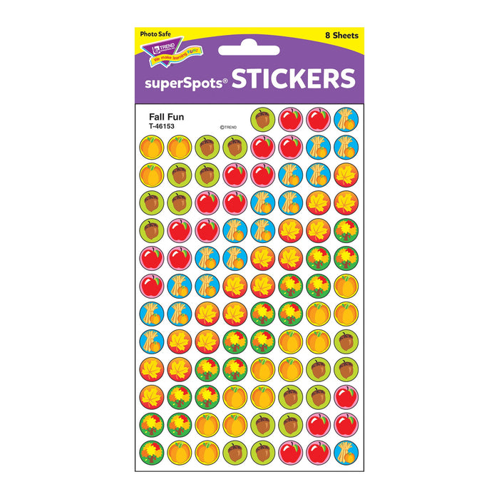 T46153 Stickers Chart Fall Fun Package
