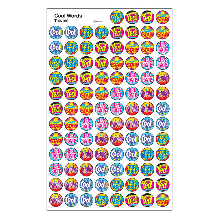 T46160 Stickers Chart Cool Words