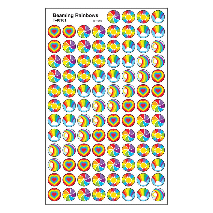 T46161 Stickers Chart Beam Rainbows