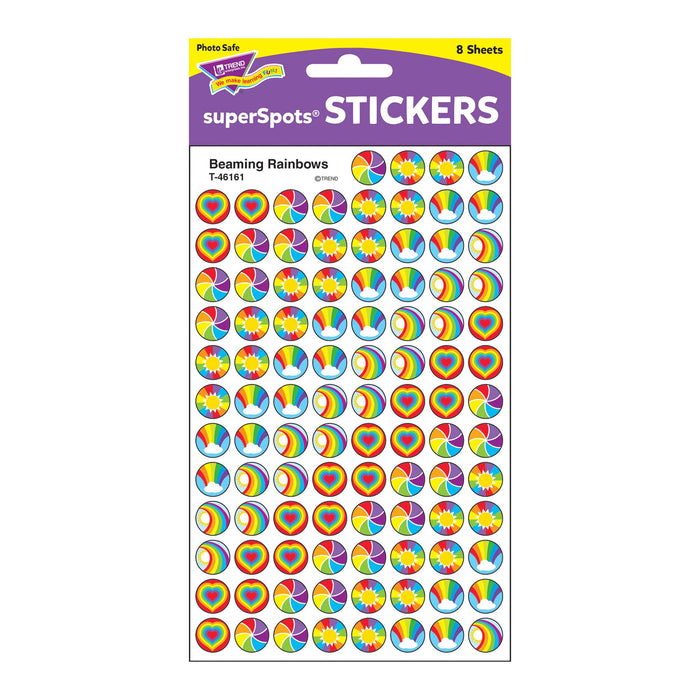 T46161 Stickers Chart Beam Rainbows Package