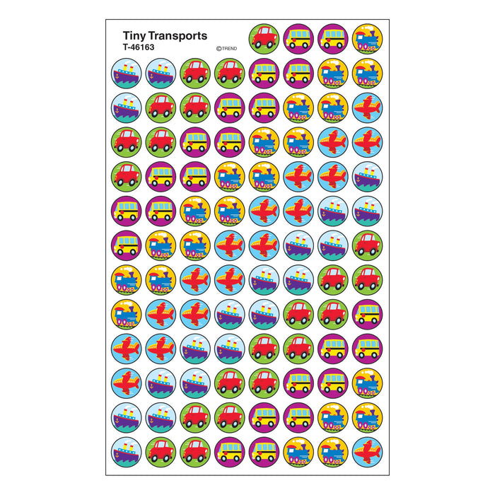 T46163 Stickers Chart Tiny Transports