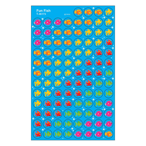 T46173 Stickers Chart Fun Fish