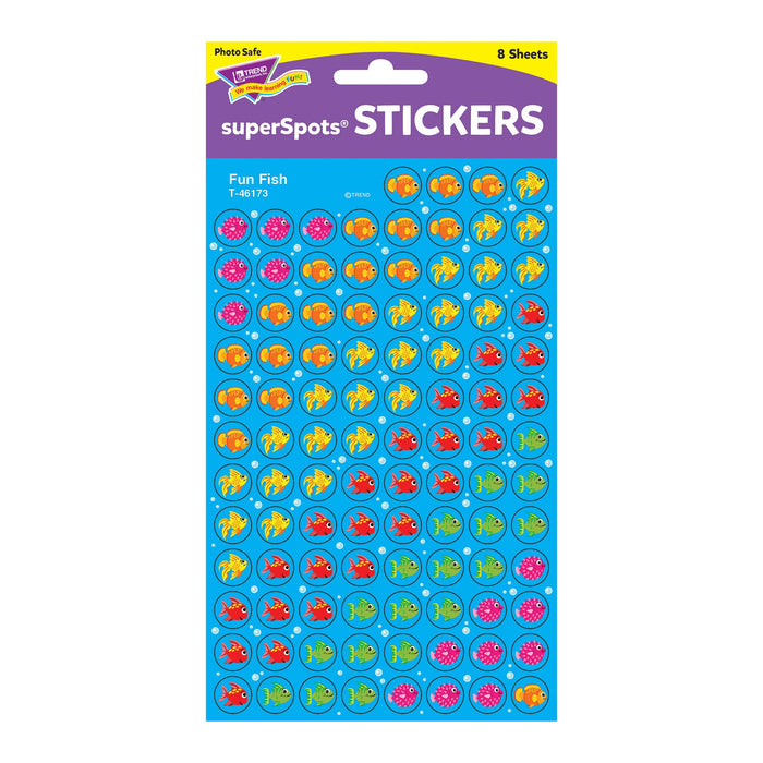 T46173 Stickers Chart Fun Fish Package