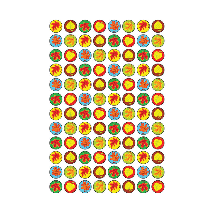 T46177 Stickers Chart Fall Leaves