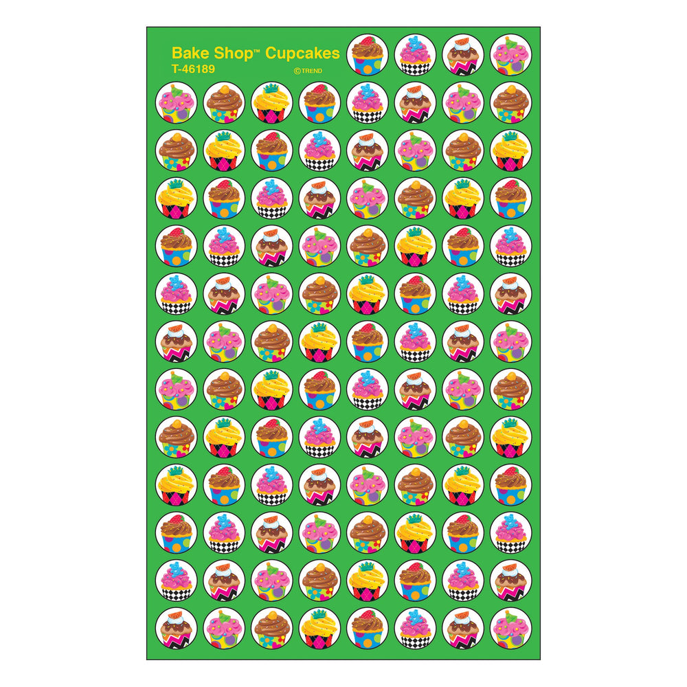 T46189 Stickers Chart Cupcakes