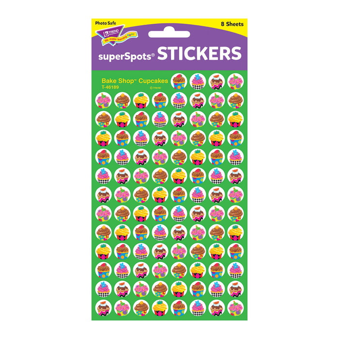 T46189 Stickers Chart Cupcakes Package