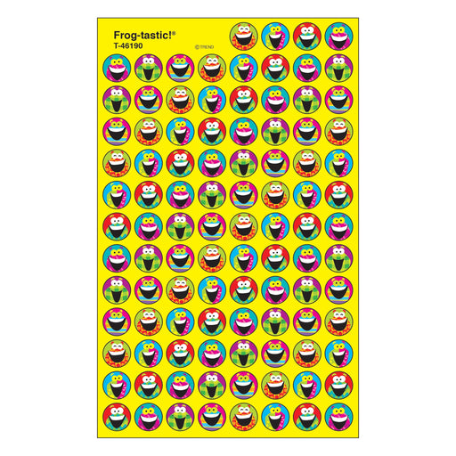 T46190 Stickers Chart Frog
