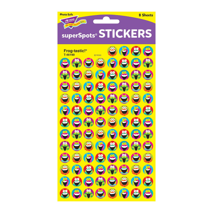 T46190 Stickers Chart Frog Package