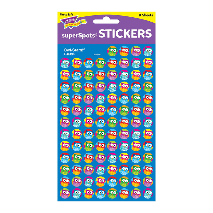 T46194 Stickers Chart Owl Stars Package