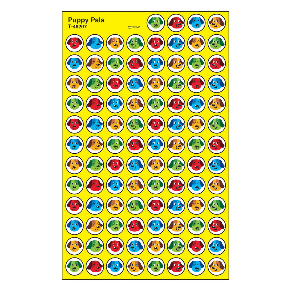 T46207 Stickers Chart Puppy Pals