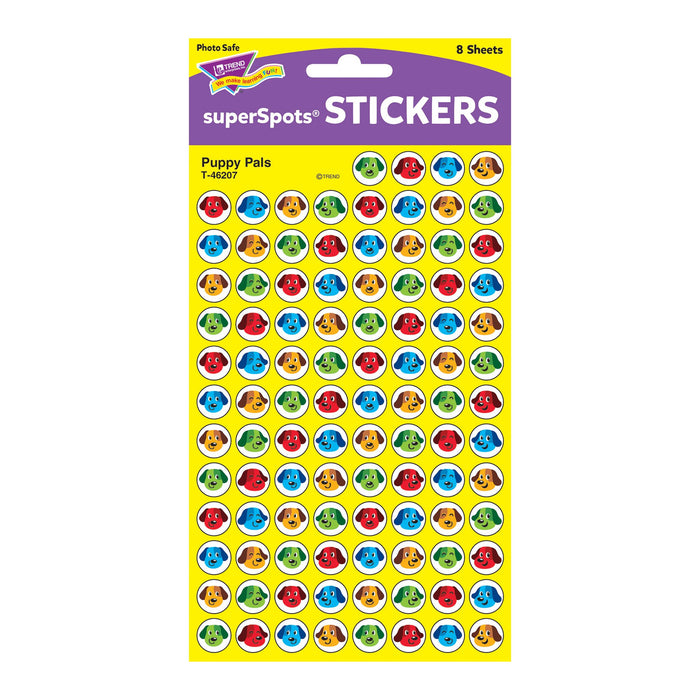T46207 Stickers Chart Puppy Pals Package
