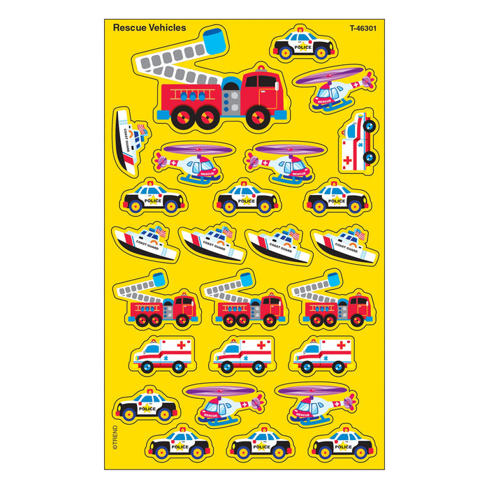 T46301 Stickers Rescue Vehicles