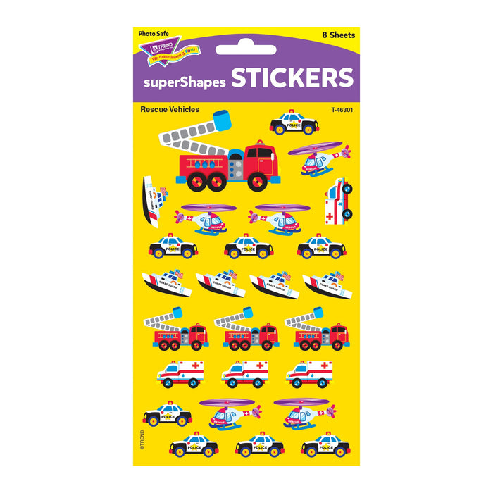 T46301 Stickers Rescue Vehicles Package