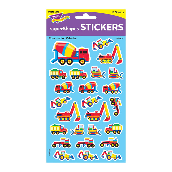 T46304 Stickers Construction Vehicle Package
