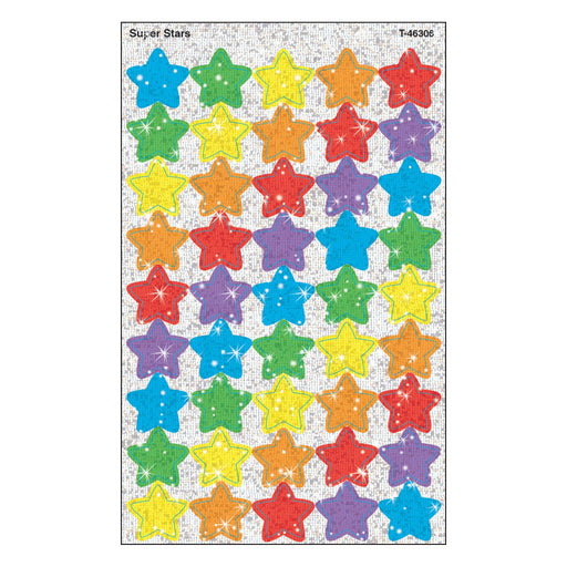 T46306 Stickers Sparkle Super Stars