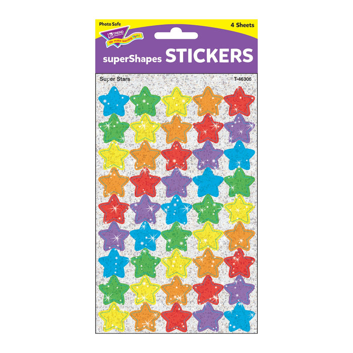 T46306 Stickers Sparkle Super Stars Package