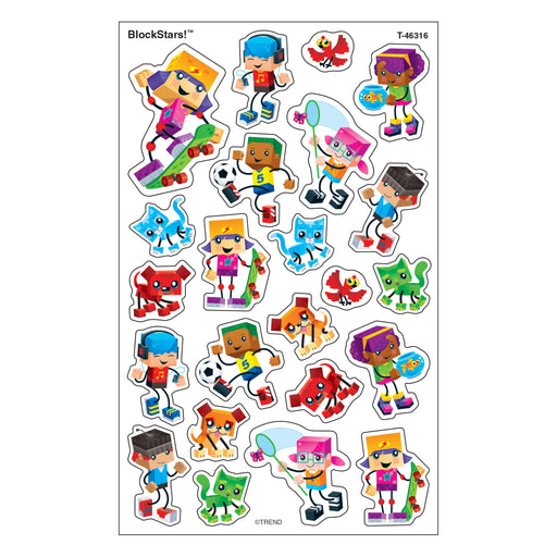 T46316 Stickers BlockStars!®