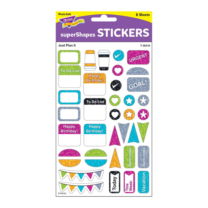 T46318 Stickers Harmony Just Plan It Package