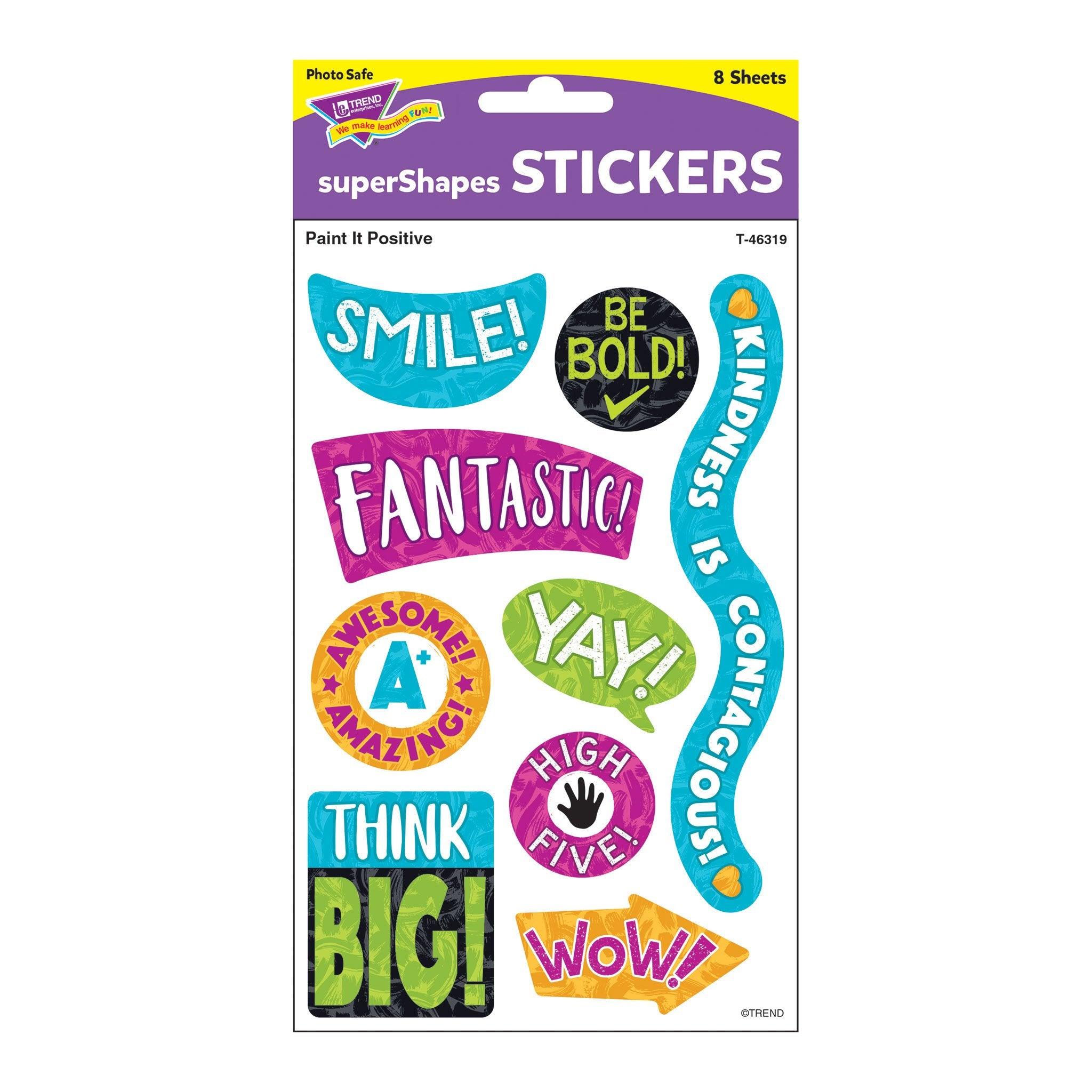 T46319 Stickers Harmony Paint It Positive Package
