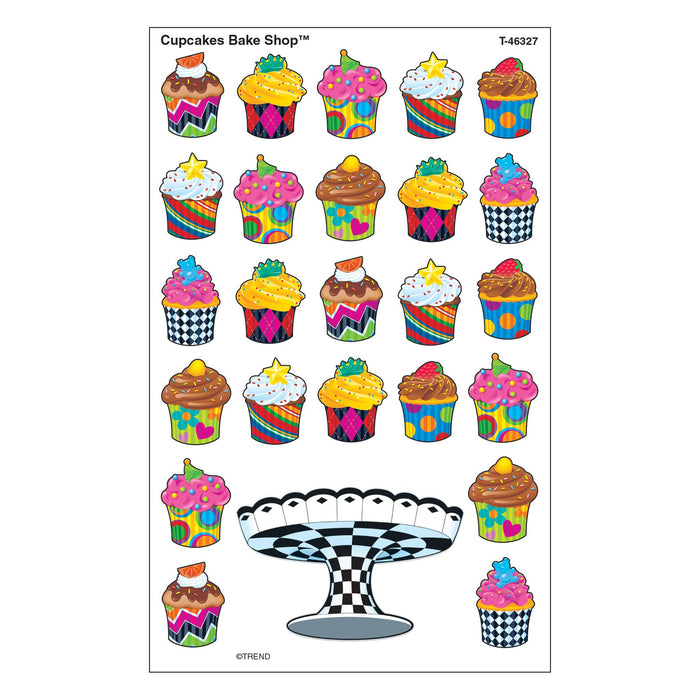 T46327 Stickers Cupcakes