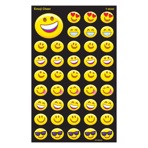 T46340 Stickers Emoji Smiles