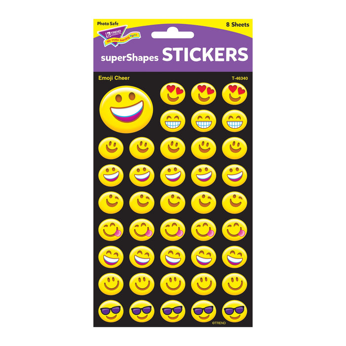 T46340 Stickers Emoji Smiles Package