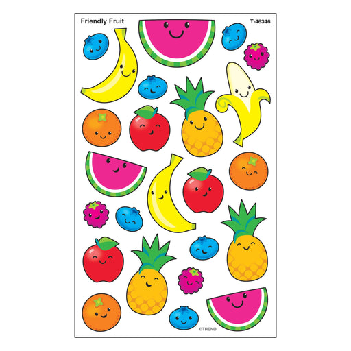 T46346 Stickers Friendly Fruit