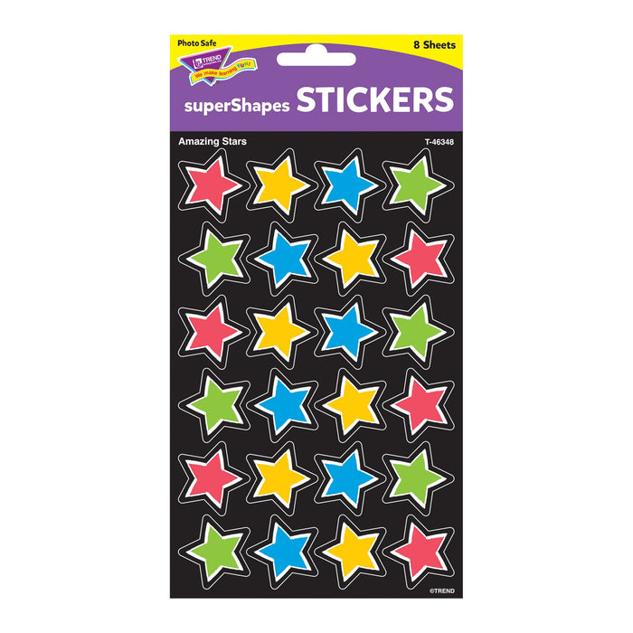 T46348 Stickers Bold Amazing Stars Package