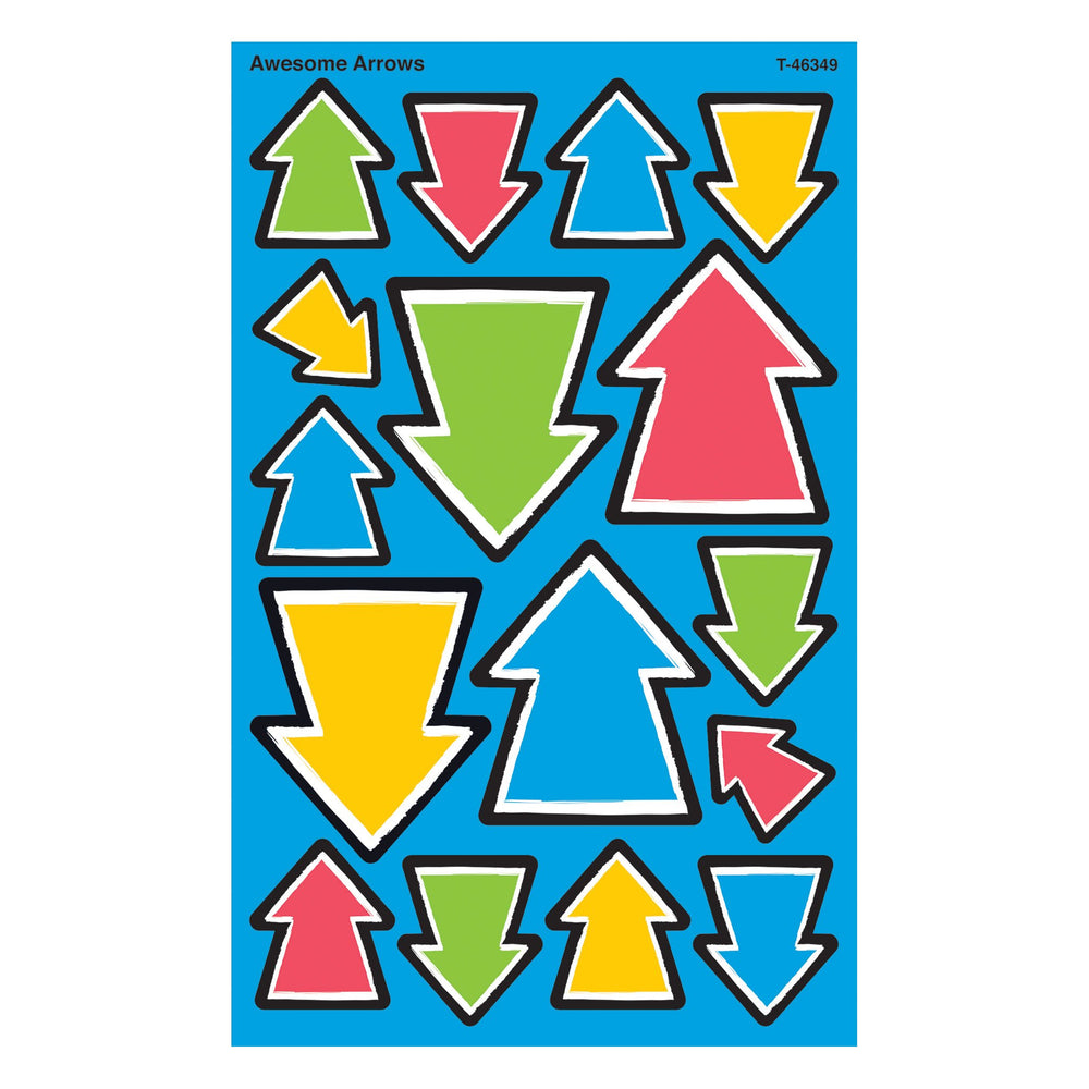 T46349 Stickers Bold Awesome Arrows