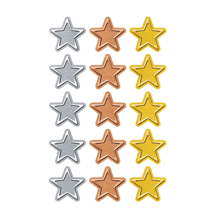 T46354 Stickers Metal Stars
