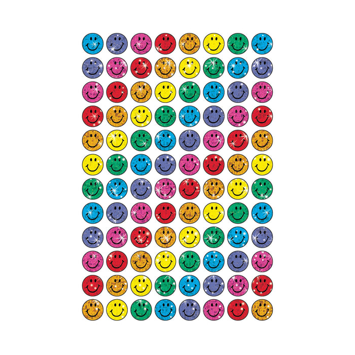 T46505 Stickers Sparkle Colorful Smiles