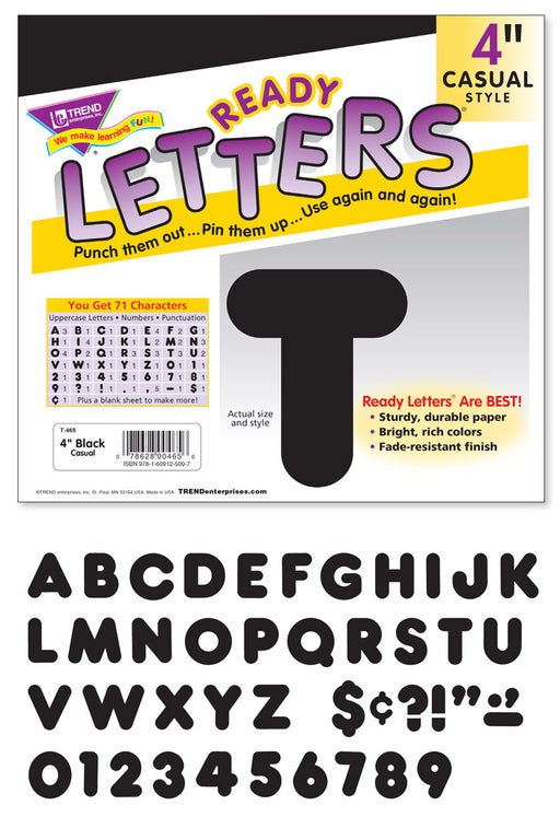 Casual Uppercase Ready Letters®