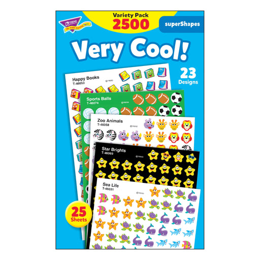 T46903 Sticker Chart Variety Pack Very Cool