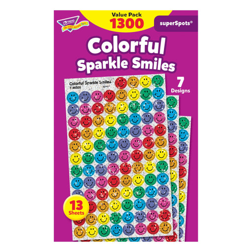 T46909 Sticker Value Pack Sparkle Smiles