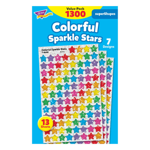 T46910 Sticker Value Pack Color Sparkle Star
