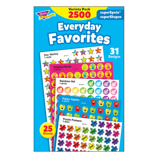 T46916 Sticker Chart Variety Pack Everyday Favorites