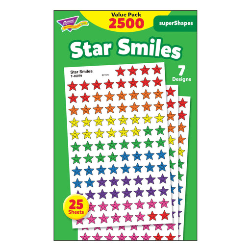 T46917 Sticker Chart Value Pack Star Smiles