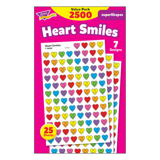 T46918 Sticker Chart Value Pack Heart Smiles