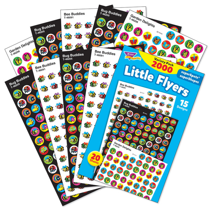 T46931 Sticker Chart Variety Pack Little Bug Flyers