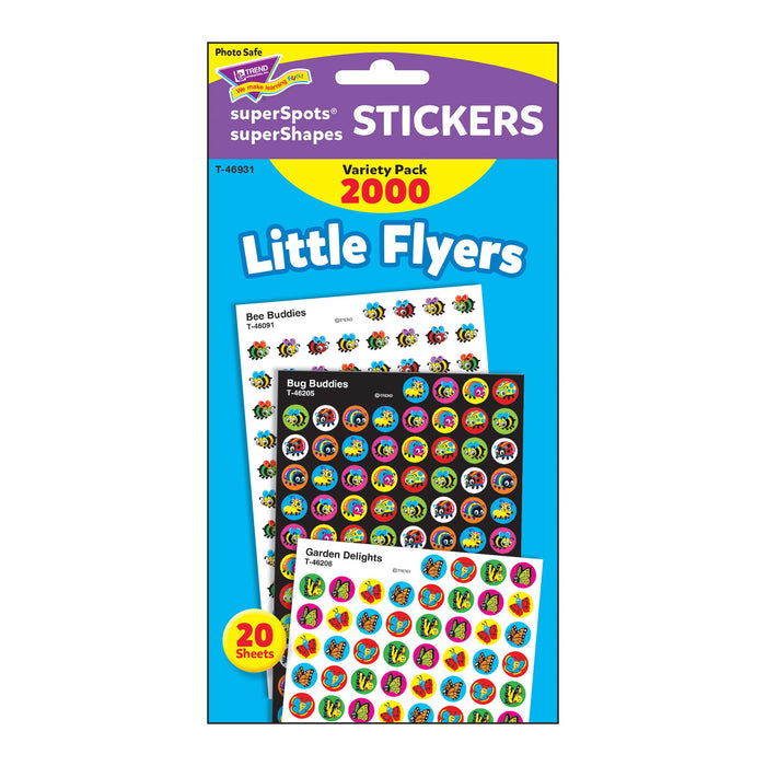 T46931 Sticker Chart Variety Pack Little Bug Flyers Package