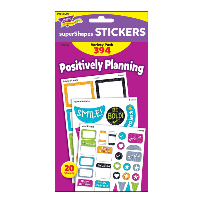 T46933 Sticker Variety Pack Harmony Positively Planning Package