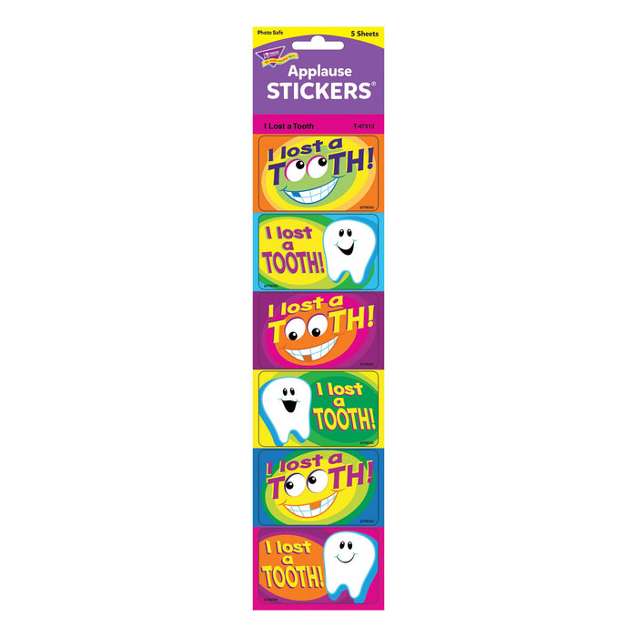 T47313 Stickers I Lost Tooth Package