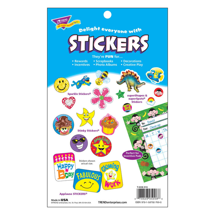 T5006 Sticker Pad Seasons Holidays Package Back