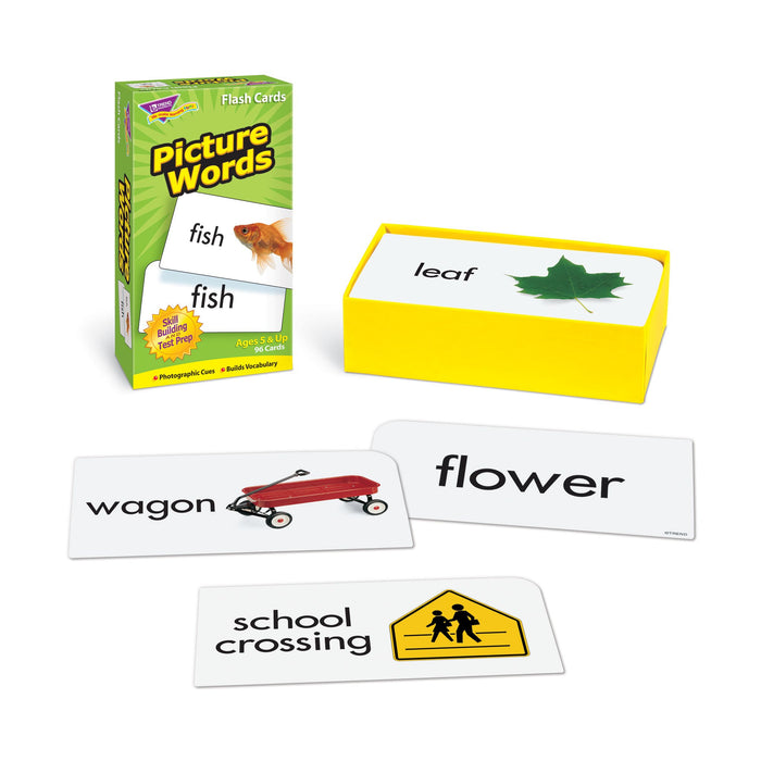 T53004 Flash Cards Picture Words