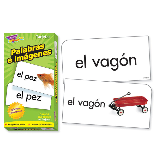 T53006 Flash Cards Picture Words Spanish