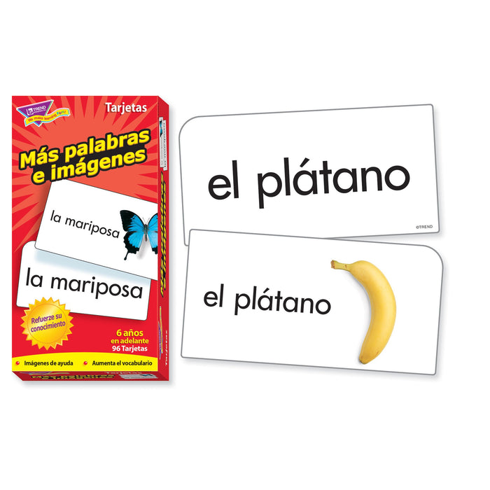 T53007 Flash Cards More Picture Words Spanish