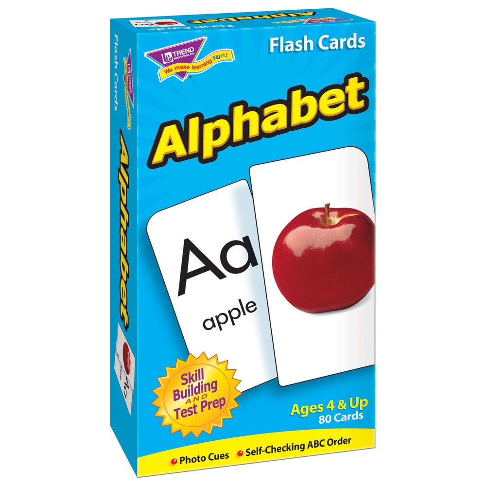 T53012 Flash Cards Alphabet Box Left