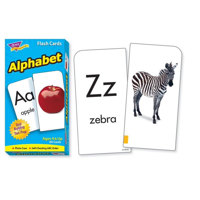 T53012 Flash Cards Alphabet