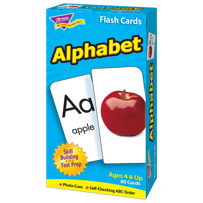 T53012 Flash Cards Alphabet Box Right