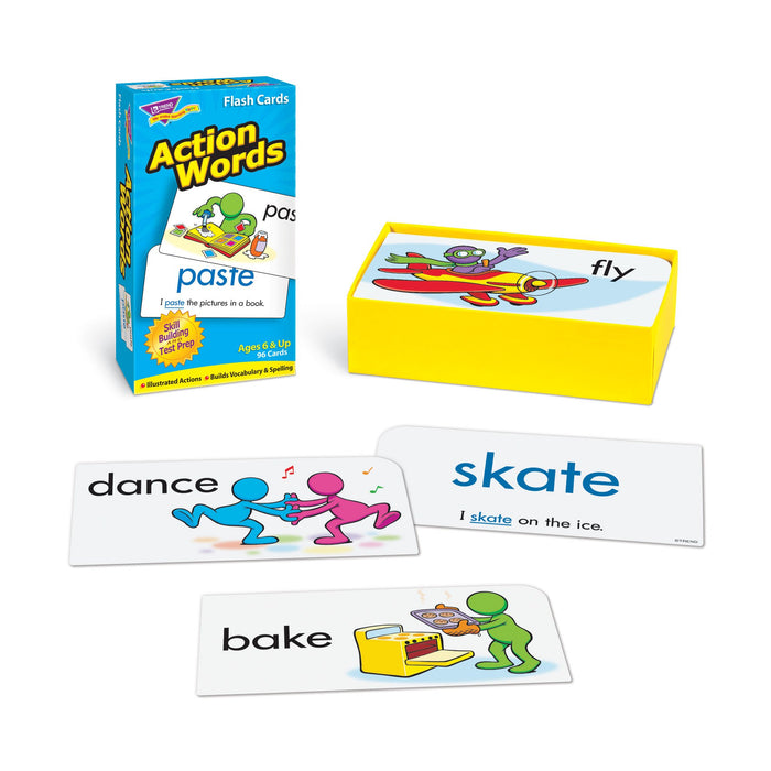 T53013 Flash Cards Action Words